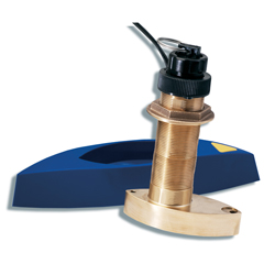 B744VL Bronze Long Stem Through-Hull Transducer
