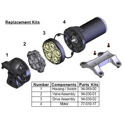 Shurflo Valve Assembly for 5901 Series Sale $62.99 SKU: 9397431 ID# 94-030-01 UPC# 752324010257 :