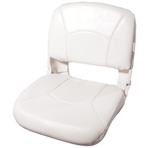 All-Weather Folding Seat, White