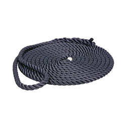 Premium Navy Prespliced Three-Strand Nylon Dock Lines