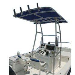 Neptune No-Weld T-Top Kit with Four Rod Holders