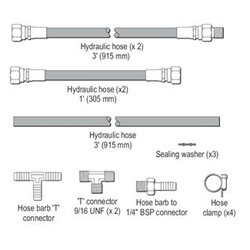 Verado Hydraulic Hose Kit