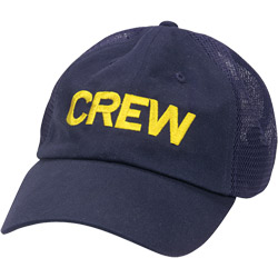 Crew Mesh Boating Cap