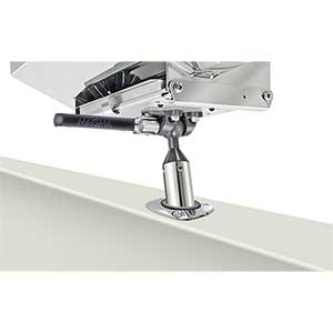 Single Adjustable LeveLock Rod Holder Mount