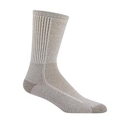 Wigwam Cool-Lite Hiker Pro Crew Socks, Khaki, L Sale $11.99 SKU: 14376206 ID# F6067 47H LG UPC# 48323245166 :