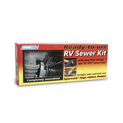 Camco Easy Slip Ready-to-Use RV Sewer Kit Sale $21.99 SKU: 9669698 ID# 39551 UPC# 14717395519 :