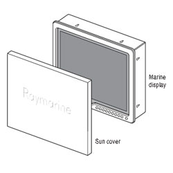Suncovers for G-Series Marine Displays