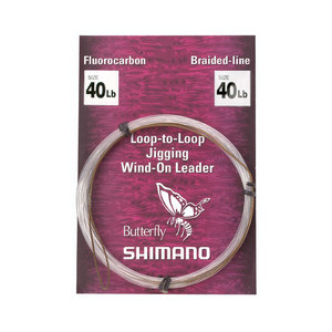 Jigging Wind-On Leader, 40lb.