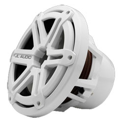 "M101B5 Marine Subwoofer Sport Grill, 10"", White"