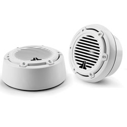 "7.7"" White M770-CCS Component Speaker, Classic Grill"