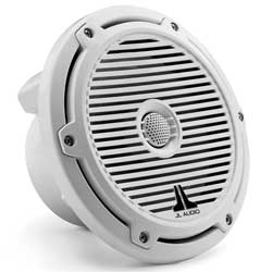 "M-Series Cockpit Coaxial Speakers, 7.7"", White"