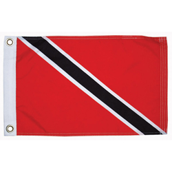 "Trinidad Courtesy Flag, 12"" x 18"""