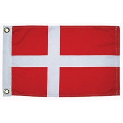 "Denmark Courtesy Flag, 12"" x 18"""