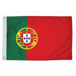 "Portugal Courtesy Flag, 12"" x 18"""