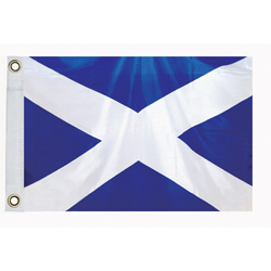 "St Andrews Cross Courtesy Flag, 12"" x 18"""