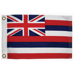 "Hawaii State Flag, 12"" x 18"""