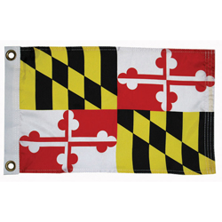 "Maryland State Flag, 12"" x 18"""