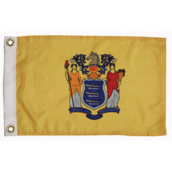 "New Jersey State Flag, 12"" x 18"""