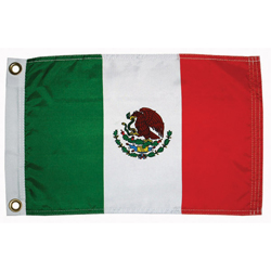 "Mexico Courtesy Flag, 12"" x 18"""