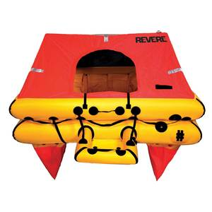 Offshore Elite Life Raft, 6-Person, Container