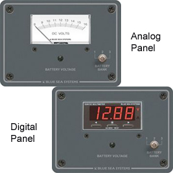 Three-Bank Voltmeter Panels