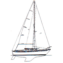 Catalina 27 STD Custom Rigging