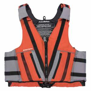 Action Reflex Life Jackets, Red