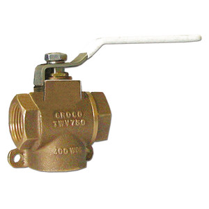 3-Way Bronze Ball Valves