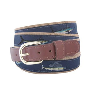 Leather Ribbon Belt