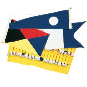"International Code Signal Flags, 18""L x 12""W"