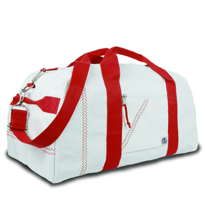 Large Square Sailcloth Duffel Bag