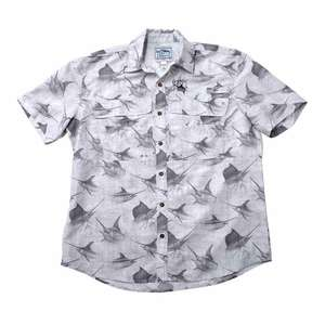 Men's Billfish Rain Tech Travel Short Sleeve Shirt