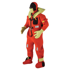 USCG/SOLAS-Approved Immersion Suit with Stainless Steel Lifting Harness