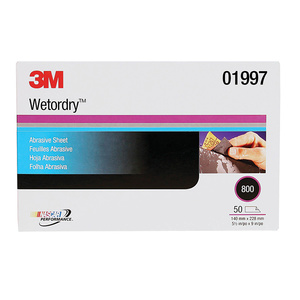 "Wetordry™ 5 1/2"" x 9"" Abrasive Sheet Sleeves"