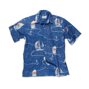 Men's Boat Lines Woven Shirt