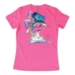Women's Sailfish Launch Short-Sleeved Tee