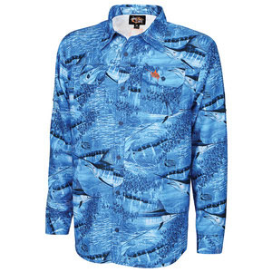 Men's Legend Camo Performance Long-Sleeve Woven Shirt