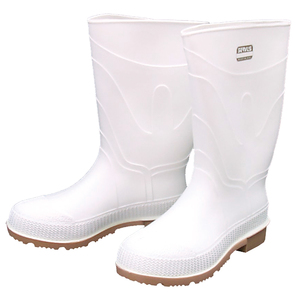 Men's White Shrimp Boots