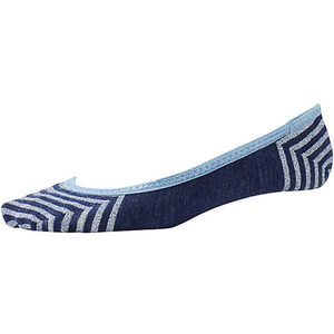 Women's Metallic Striped Sleuth Socks