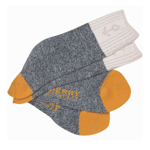 Men's Texture Anchor Crew Socks