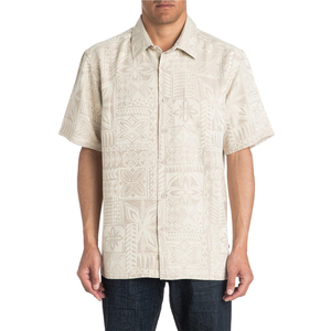 Men's Aganoa Bay 4 Short Sleeve Jacquard Shirt