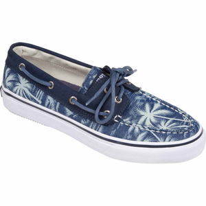 Men's Bahama 2-Eye Chambray Mocs