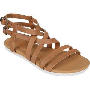 Women's Avalina Crossover Leather Sandals