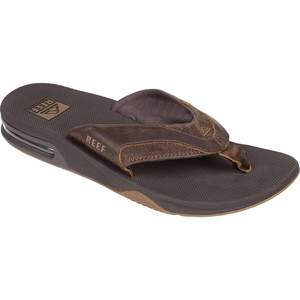 Men's Leather Fanning Sandals