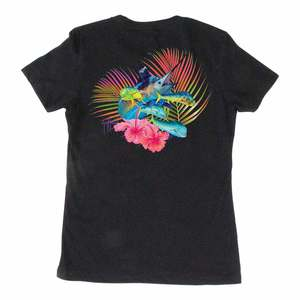 Women's Tropical Vibes Short-Sleeved Tee