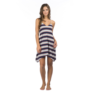 Women's Sailing Stripe Scarf Dress