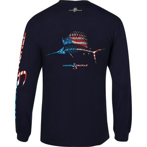 Men's American Sailfish Long-Sleeved Tech Tee