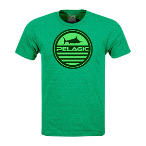 Men's Aquatic Logo Short-Sleeved Tee