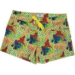 Women's Tropical Short Shorts