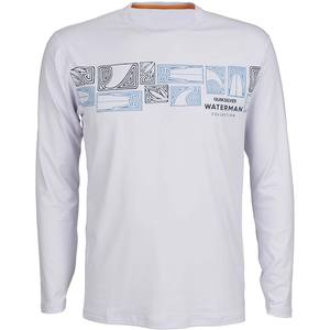 Men's Fin Story Long Sleeve Rashguard
